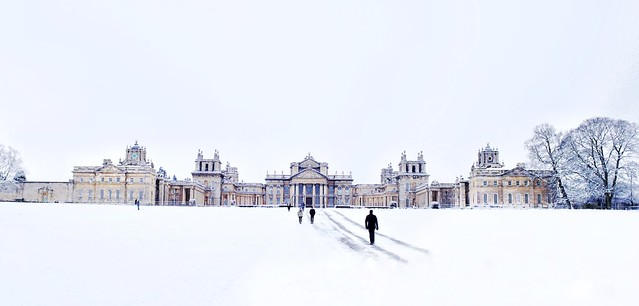 Blenheim in winter