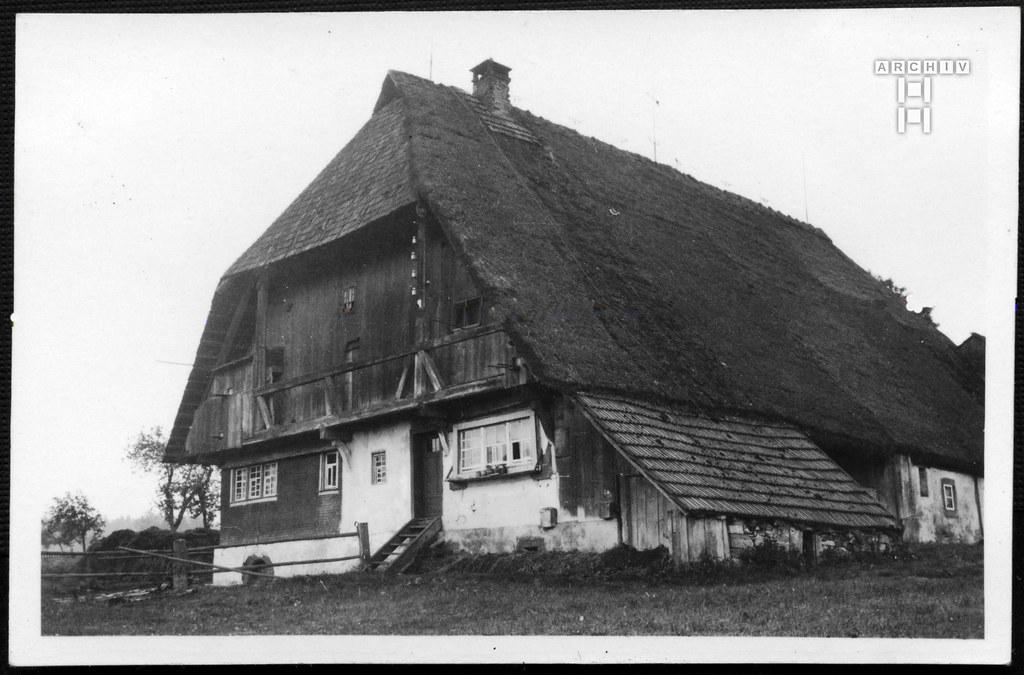 ArchivTappen2AAl2e656 Schwarzwälder Bauernhaus, Hardt, Württemberg, Fotoalbum, 1930-1948