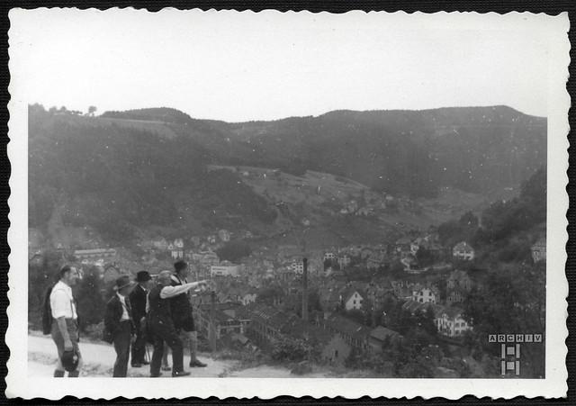 ArchivTappen2AAl2e652 Schramberg Schwarzwald, Panorama, Fotoalbum, 1930-1948