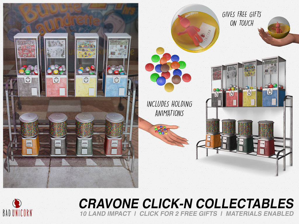 NEW! Cravone Click-N Collectables @ FaMESHed