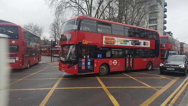 Alexander Dennis Enviro 400 City EV/BYD K10 Go Ahead London General