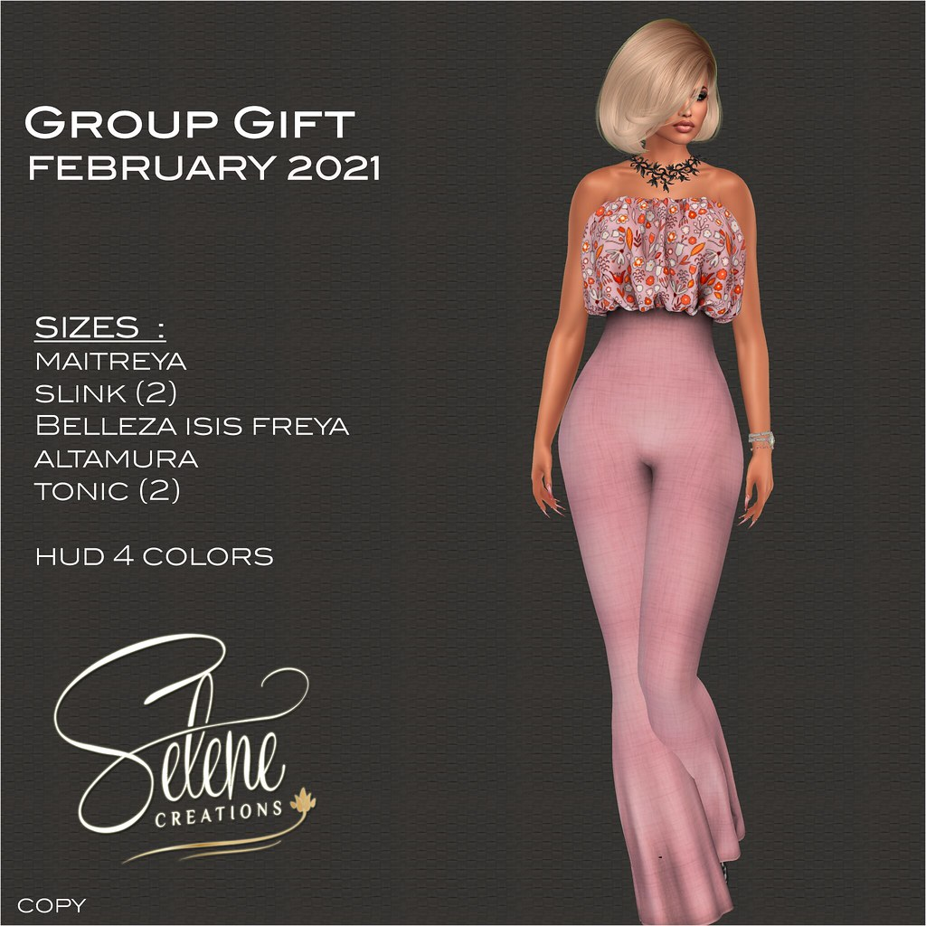 [Selene Creations] Group Gift February 2021