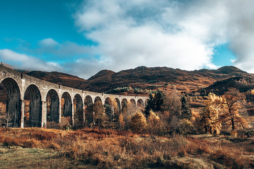 Glenfinnan Viaduct. From The Complete Guide to Vanlife Scotland: Costs, Routes, & Everything Else You Need to Know!