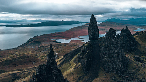Old Man of Storr. From The Complete Guide to Vanlife Scotland: Costs, Routes, & Everything Else You Need to Know!