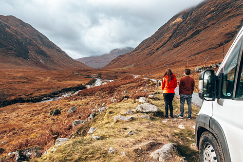 Skyfall picture spot in Glen Coe. From The Complete Guide to Vanlife Scotland: Costs, Routes, & Everything Else You Need to Know!
