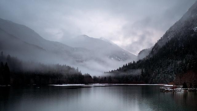 Dusk at Diablo Lake
