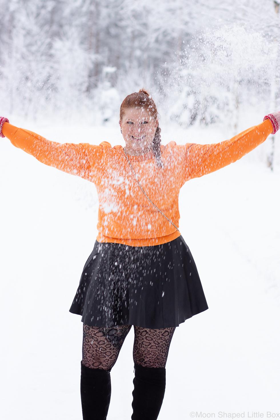 Talvi-2021-lumen-heitto
