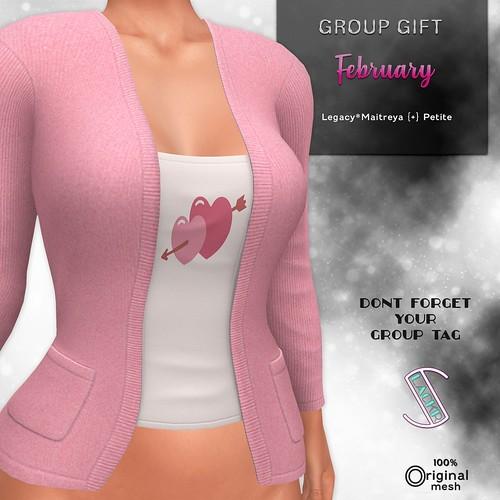 Slackr :: Group Gift {February 2021}