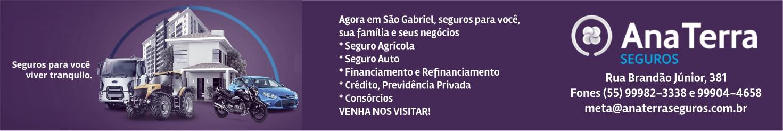 Ana Terra Seguros - sua nova opção de seguro em São Gabriel