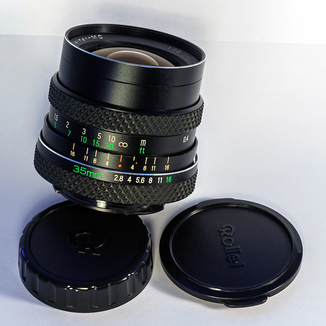 Rolleinar MC 35 mm f 2.8