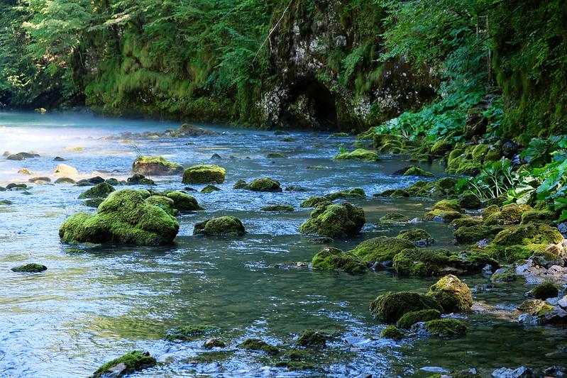 Kupa River, Risnjak National Park, Croatia