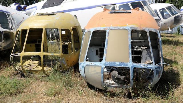 Mi-8 cockpits
