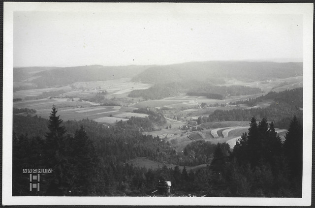 ArchivTappen2AAl2e654 Blick nach Baden, Fohrenbühl, Fotoalbum, 1930-1948