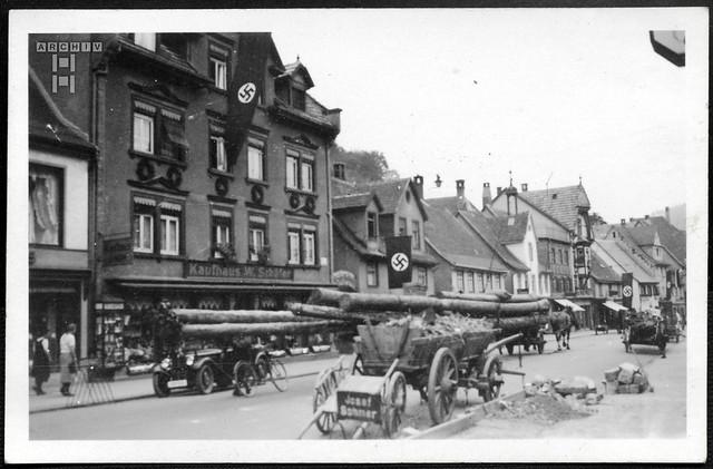 ArchivTappen2AAl2e650 Schramberg Schwarzwald, Adolf-Hitler-Straße, 1930-1948