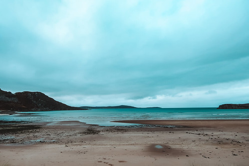 beach on NC500. From The Complete Guide to Vanlife Scotland: Costs, Routes, & Everything Else You Need to Know!