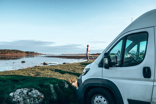 Our campervan. From The Complete Guide to Vanlife Scotland: Costs, Routes, & Everything Else You Need to Know!