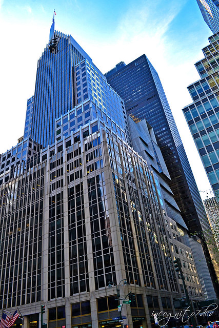 Park Avenue E51st St Office Buildings & Skyscrapers Midtown Manhattan New York City NY P00791 DSC_0655