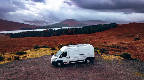 Near Glen Coe. From The Complete Guide to Vanlife Scotland: Costs, Routes, & Everything Else You Need to Know!