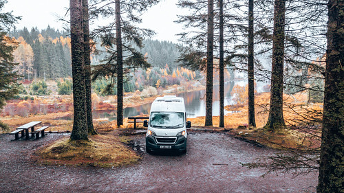 Three Lochs Forest Drive. From The Complete Guide to Vanlife Scotland: Costs, Routes, & Everything Else You Need to Know!