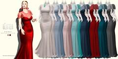 Glitter STARDUST Fitmesh Dress COLORS AD