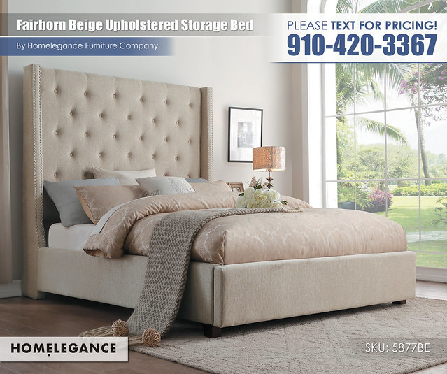 Fairborn Beige Upholstered Storage Bed_5877BE