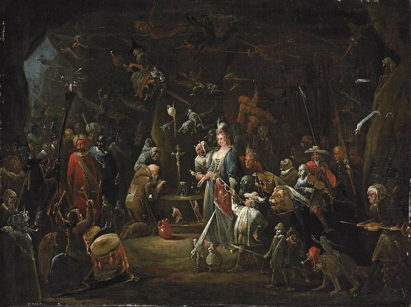Egbert Van Heemskerk ll - The Temptation of Saint Anthony, 17th Century