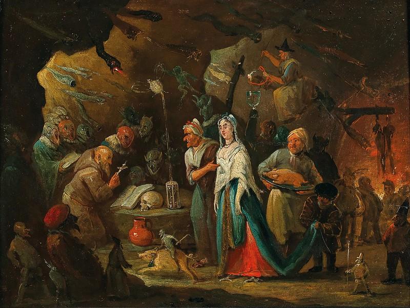 Egbert van Heemskerck II - The Temptation of Saint Anthony