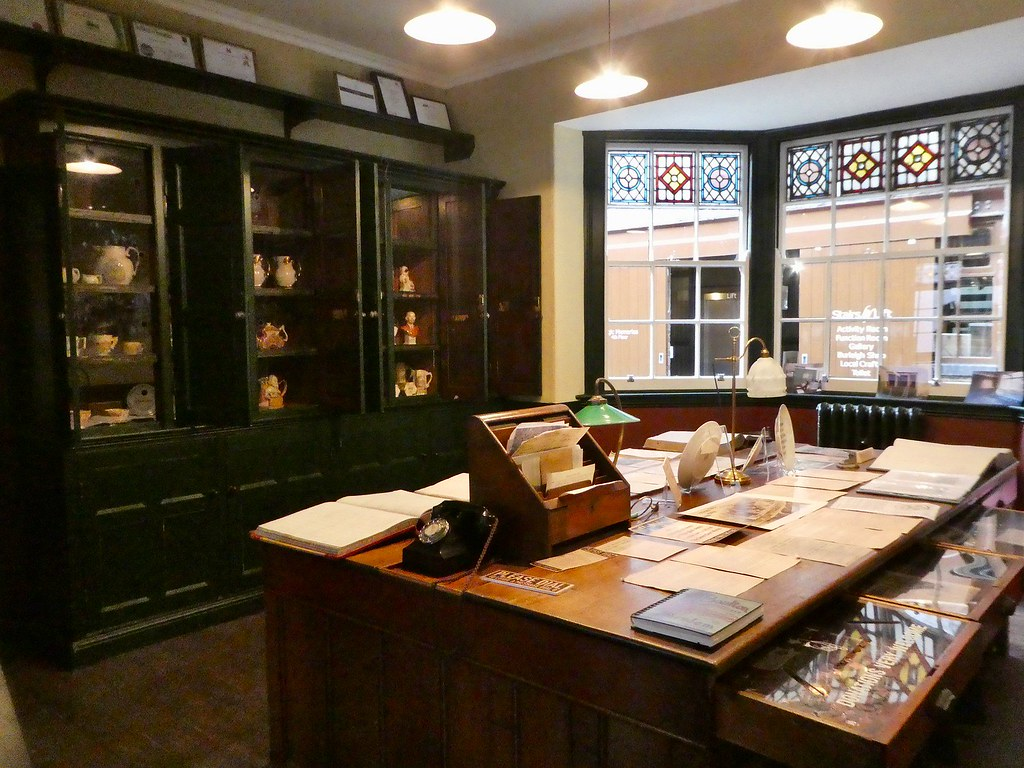Victorian Offices, Middleport Pottery