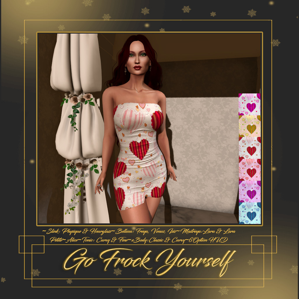 GFY-My Heart Tube Dress