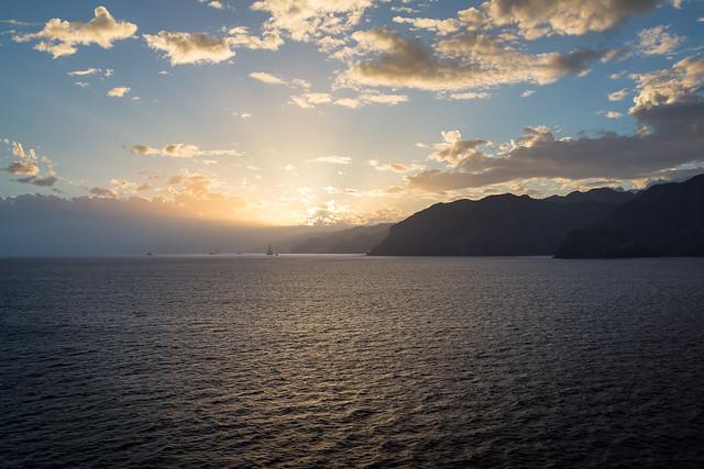 Sunset in Tenerife