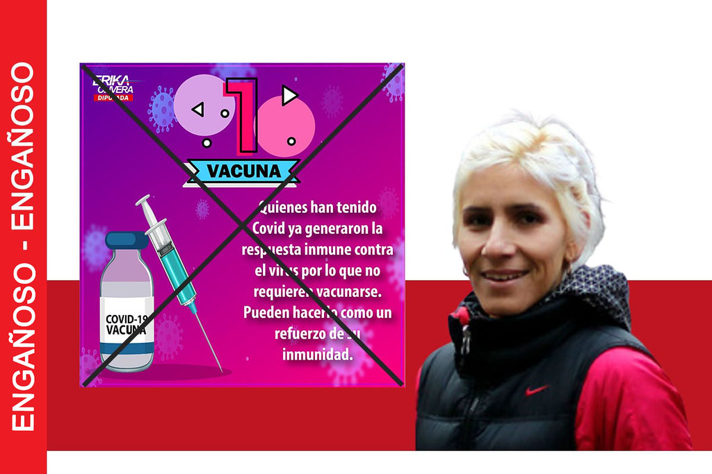No se puede afirmar que quienes tuvieron Covid-19 no requieren vacunarse porque ya generaron respuesta inmune contra el virus