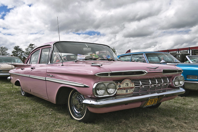 Chevrolet Bel Air Sedan 1959 (2051)