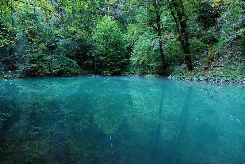 source of River Kupa, Risnjak National Park, Croatia