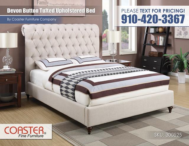 Devon Button Tufted Bed_300525Q