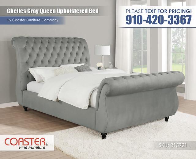 Chelles Queen Upholstered Bed_315921
