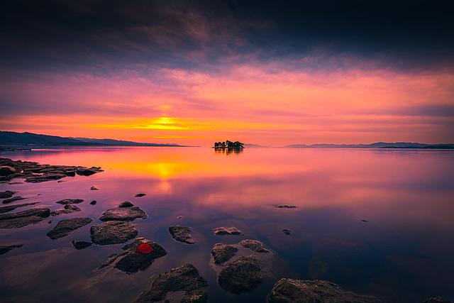 sunset 6841