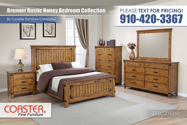 Brenner Rustic Honey Bedroom Set_Queen_205260Q_21
