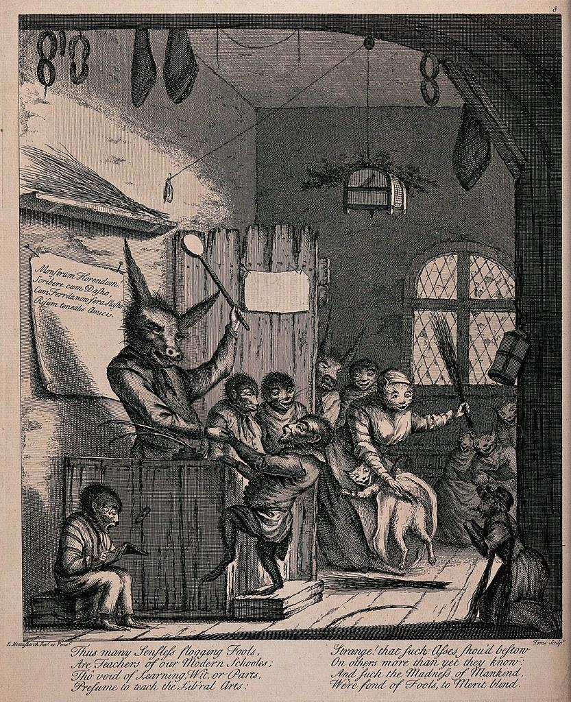 Egbert von Heemskerck - Engraving by Toms after E. Heemskerck, 1730