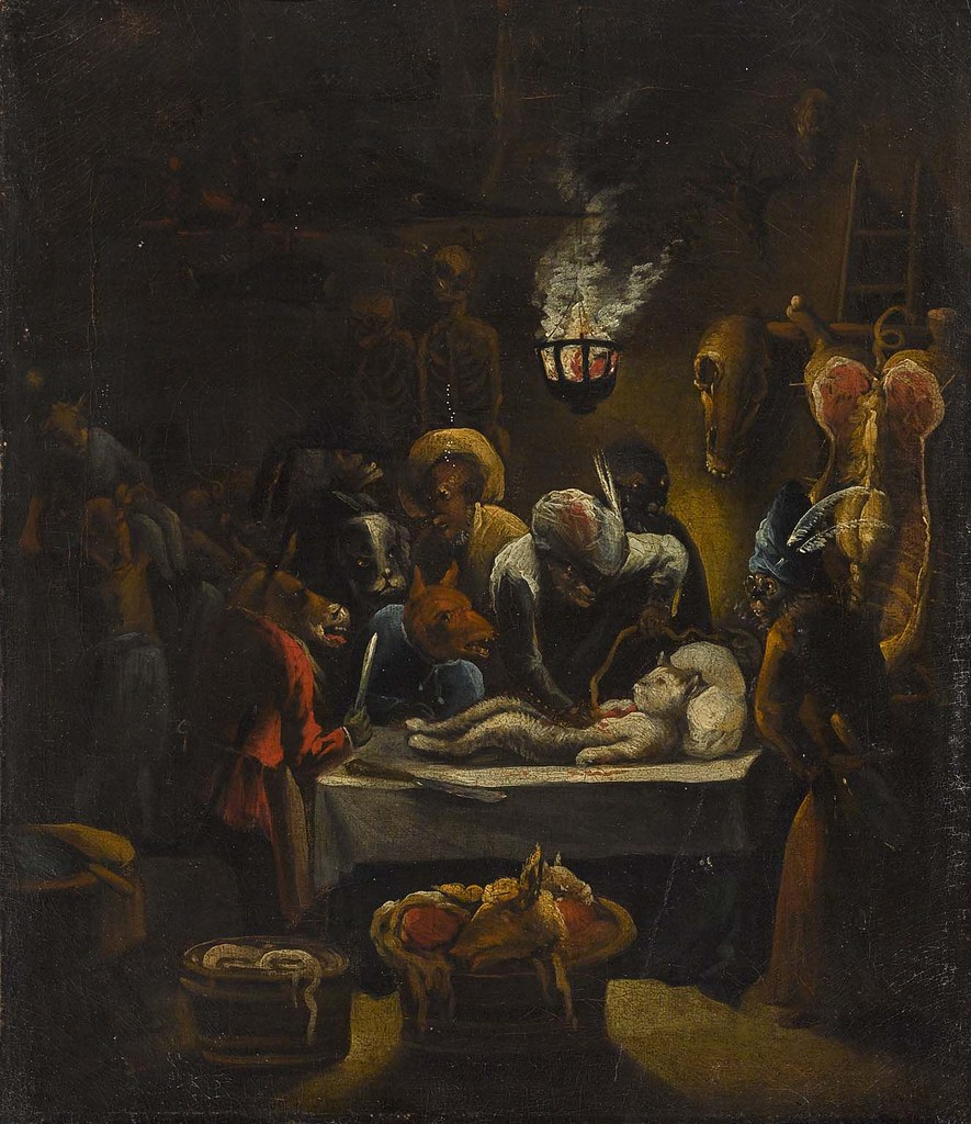 Egbert van Heemskerck II - The Monkey Surgeon