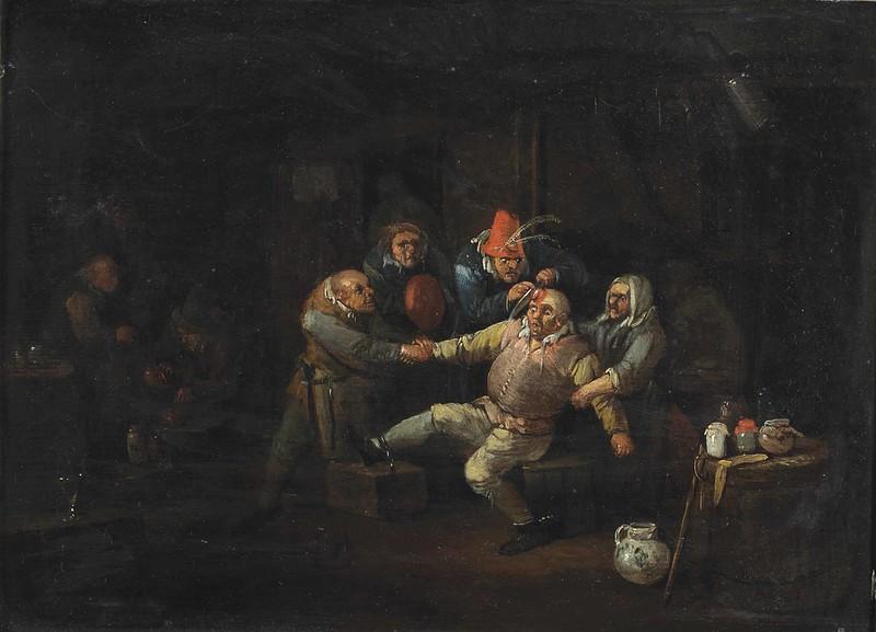 Egbert van Heemskerck II - The Surgeon's Visit