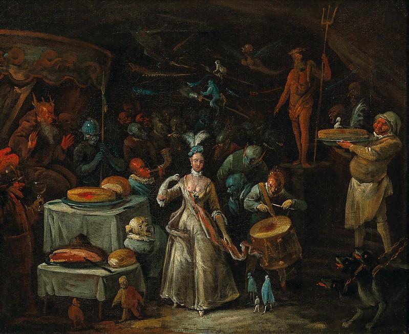 Egbert van Heemskerck II - An Allegory of Vanity,