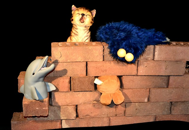 Another brick in the wall • ;-)
