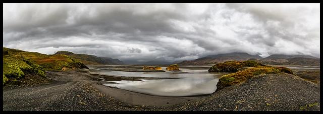 Panorama camino Cañón Lónsöraefi