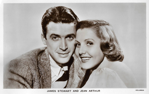 James Stewart and Jean Arthur in You Can't Take It with You (1938)