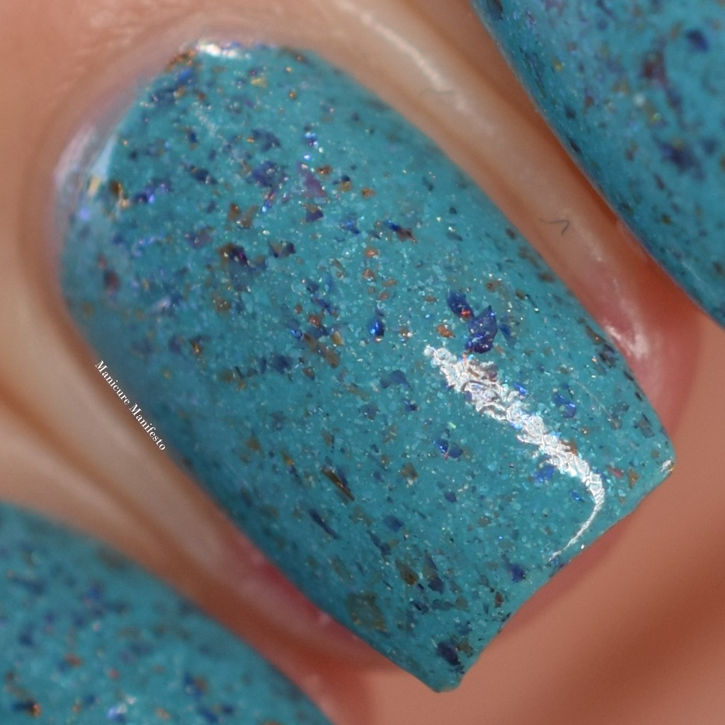 Great Lakes Lacquer Great Flakes, Great Times swatch
