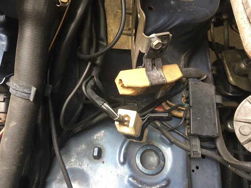 W126 fan resistor