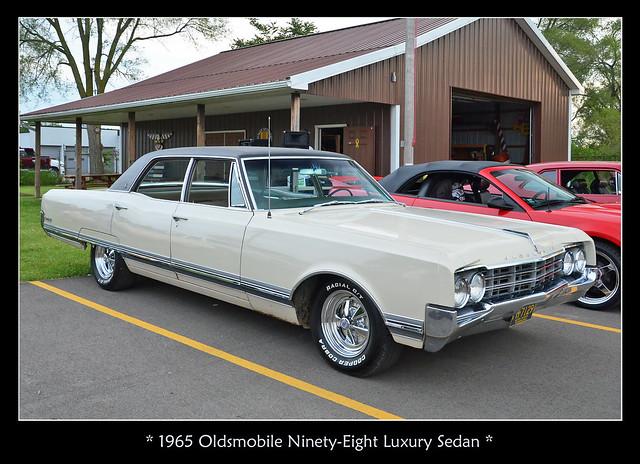 1965 Oldsmobile Ninety Eight Luxury Sedan