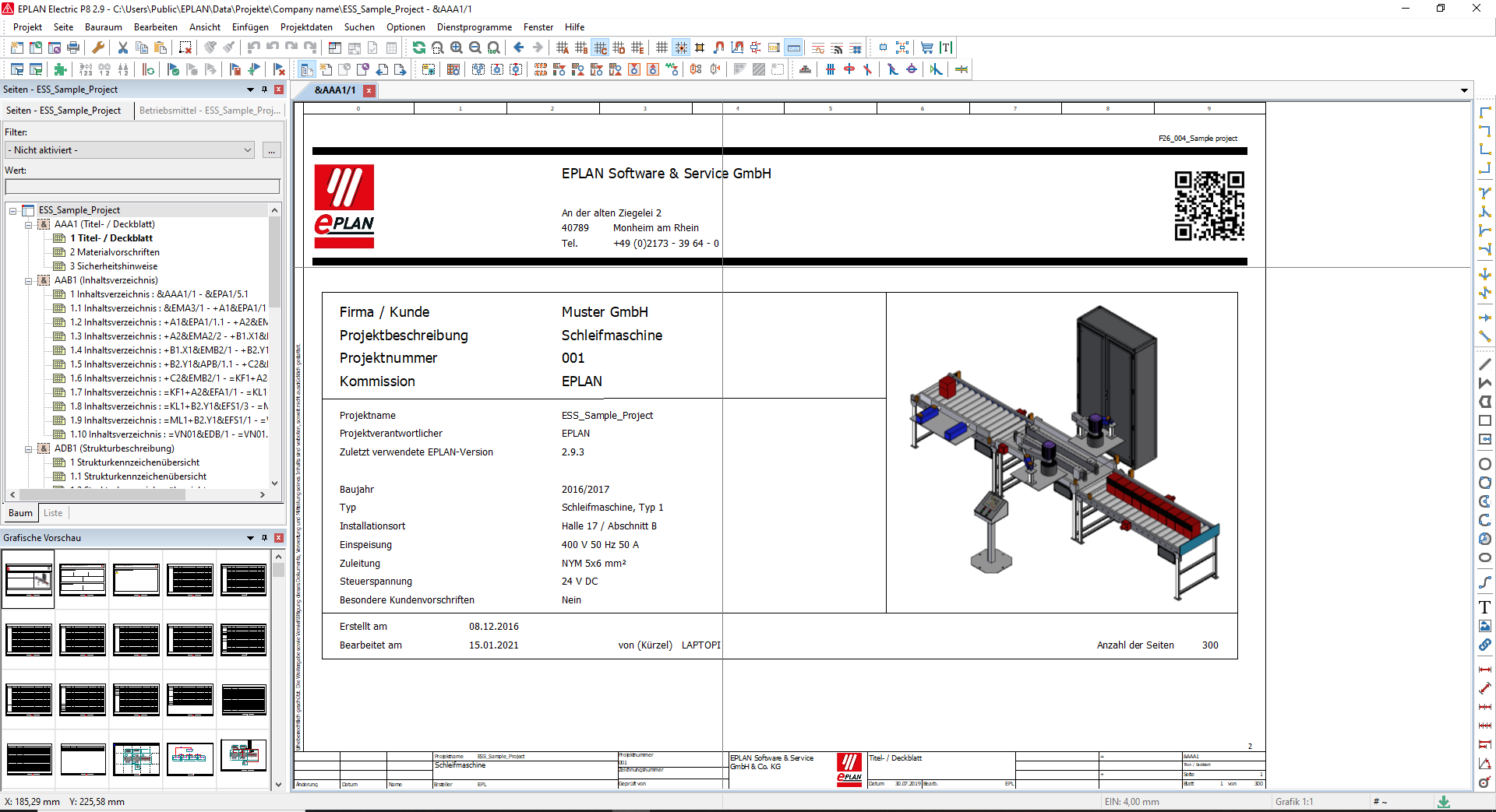 Working with EPLAN Electric P8 v2.9 full license