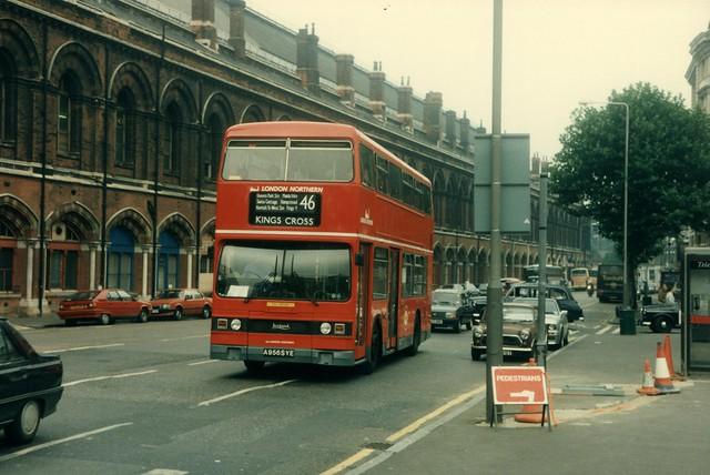 8 August 1992 Kings Cross A956SYE