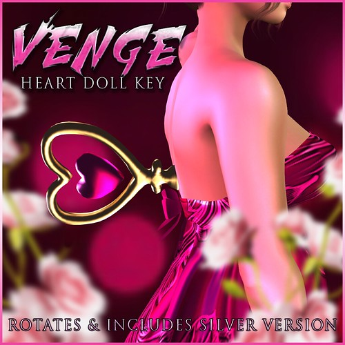 VENGE - 'Heart Doll Key' Advert Resize